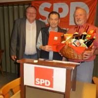 Ehrung Wilhelm Haag zu 60 Jahren Mitgliedschaft in der SPD